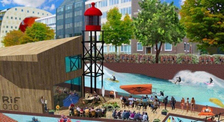 Surfs Up in Rotterdam! Well it will be by June 2015 thanks to RiF010