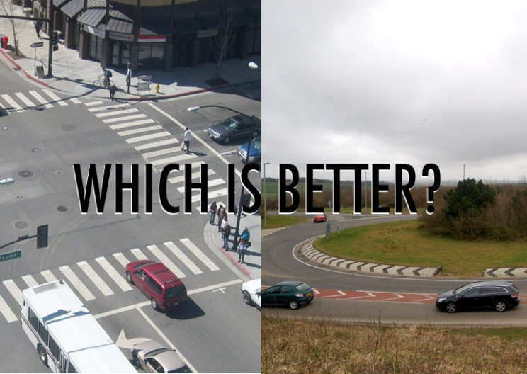 Which is Better: A Roundabout or a 4-Way Stop?