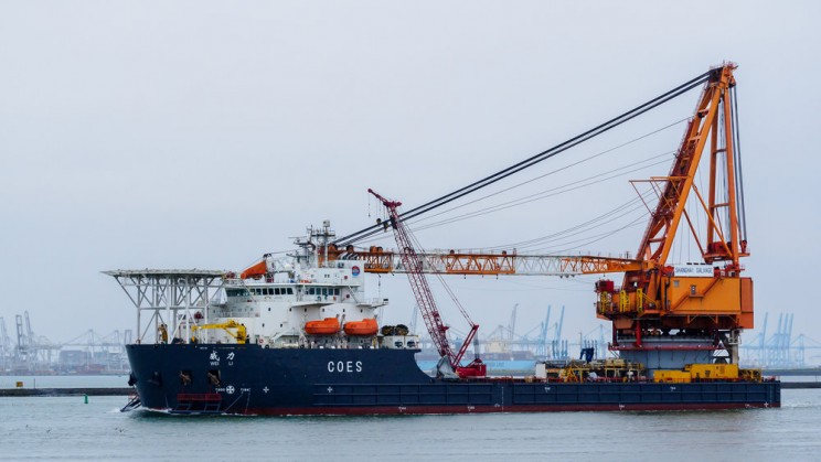 Supporting offshore wind: Vessels employed in offshore wind farm installation