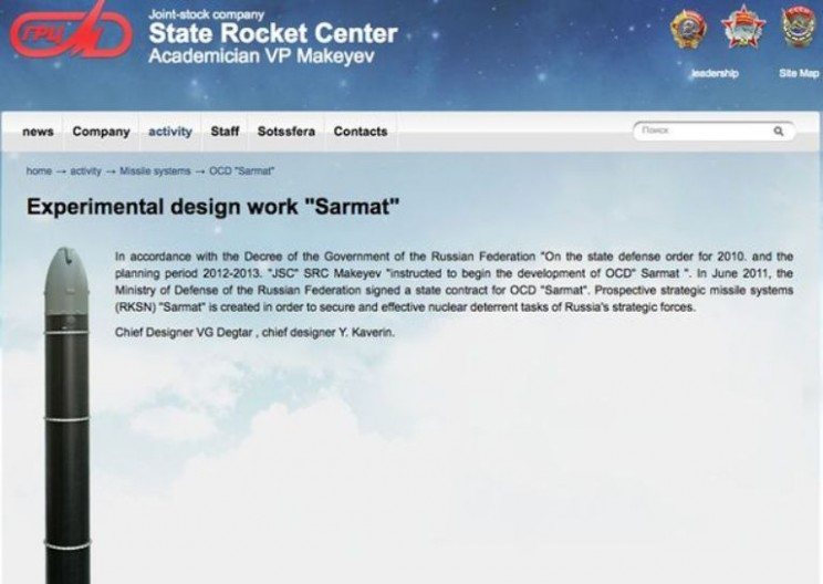 Russians Craft Massive Nuclear Weapon