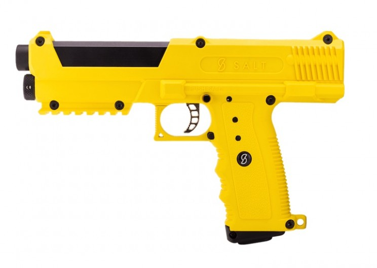 SALT Gun: A Self-Defense Weapon That Shoots Pepper Spray Capsules