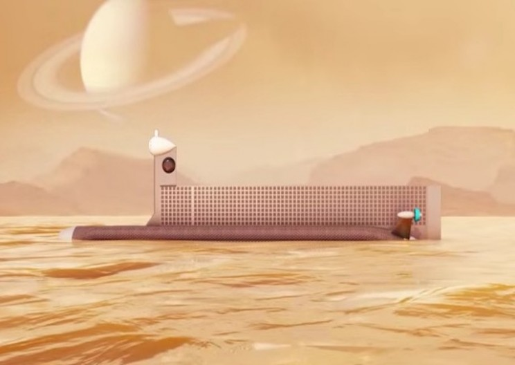 NASA is Creating a Submarine to Explore Titan's Oceans