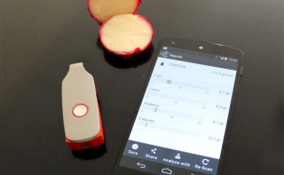 SCiO molecular scanner can count your calories for you