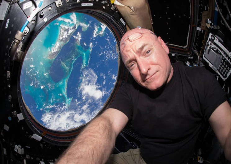 Astronaut Scott Kelly Aged Slower Than His Twin While in Space