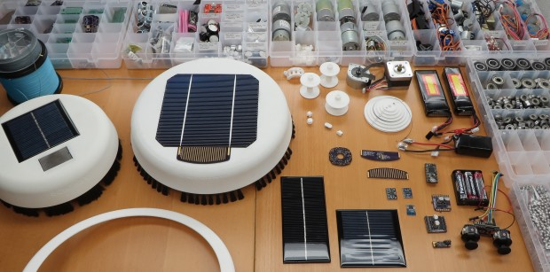 Scrobby cleans your solar panels so you don't have to