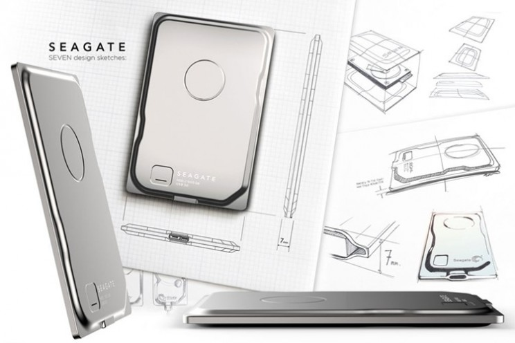 Seagate Seven is thinnest 500GB hard drive