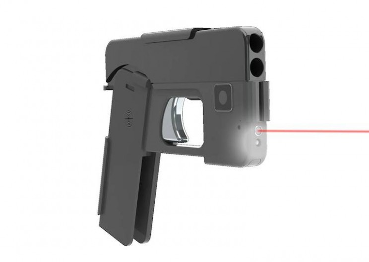 New Handgun Conceals as a Smartphone