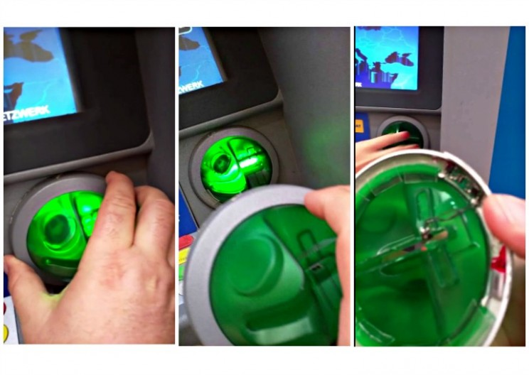 WATCH: ATM Skimmer Caught in Real-Time by Security Researcher