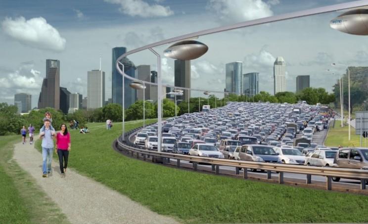 Futuristic 'sky car' SkyTran is undergoing testing in Tel Aviv