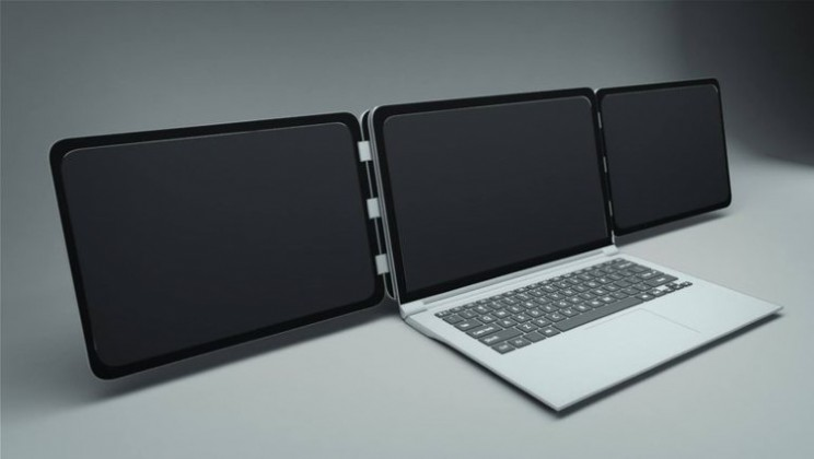 Sliden`Joy adds two more displays to your laptop