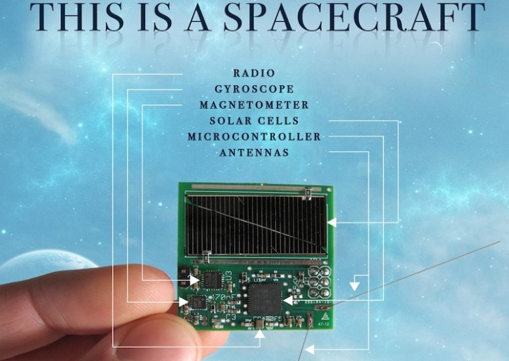 Researchers Just Launched World's Smallest Satellites into Orbit