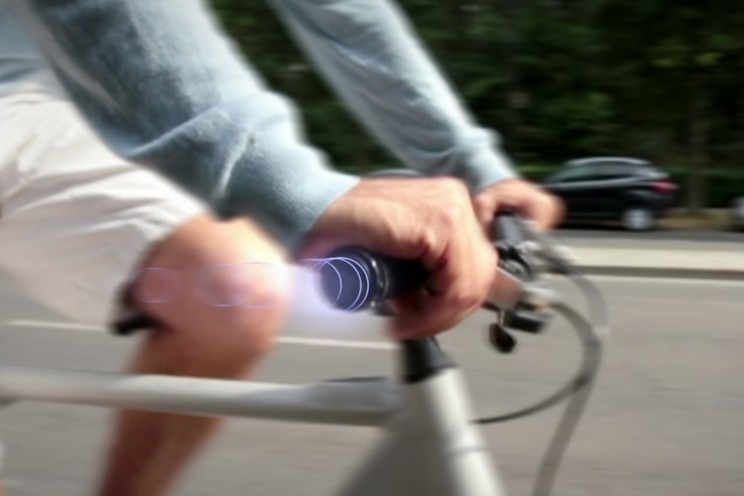 Turn by turn navigation for cycle riders thanks to SmrtGrips