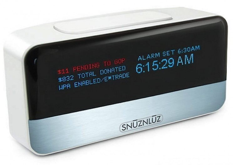 This Alarm Clock Donates to Charity Every Time You Hit the Snooze Button