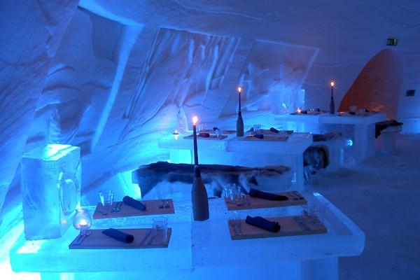 Snow Hotel in Finland