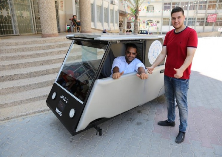 Palestinian Students Design Car to Combat Fuel Shortage
