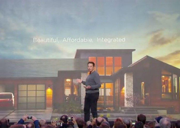 Elon Musk, Tesla Launches Sleek Solar Roof