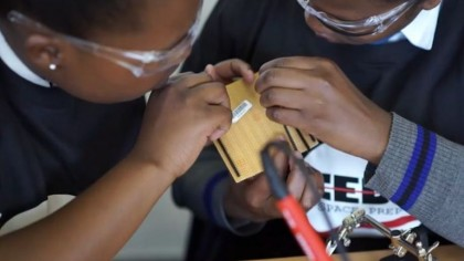 Teenage Girls from Africa Built the Continent's First Private Satellite
