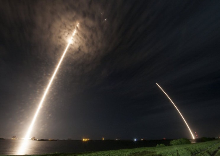 SpaceX Successfully Delivers Cargo to ISS and Lands Falcon 9