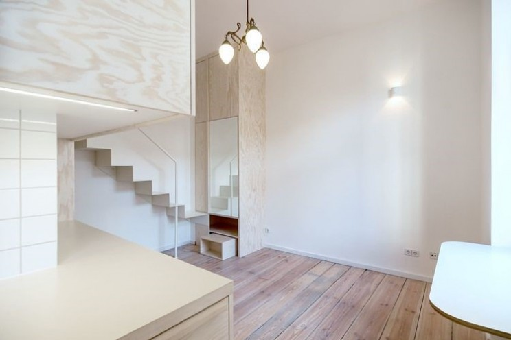 Designers of small apartment in Germany make most of the space