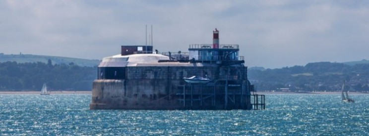 Spitbank Fort in Portsmouth transformed into luxury hotel