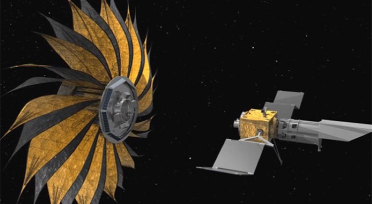 Space Sunflower Starshade is blooming marvellous for helping find alien life