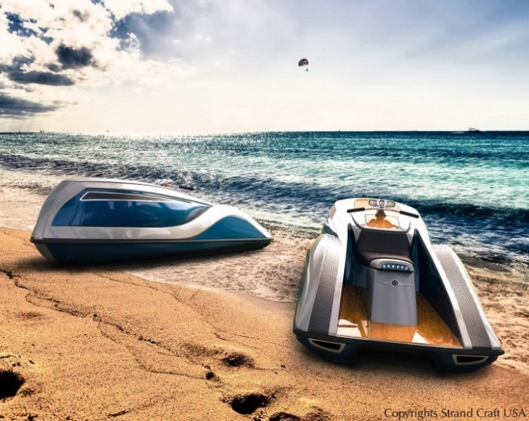 The V8 Wet Rod is the ultimate in personal luxury watercraft