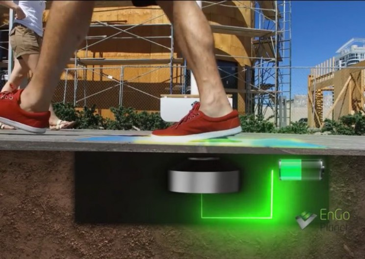 'Sin City' Powers Streetlights With Visitors' Footsteps