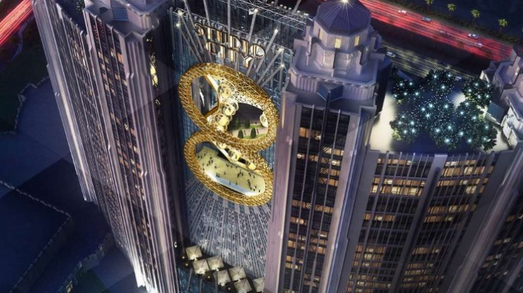 Golden Reel in China will become first ever figure eight Ferris wheel