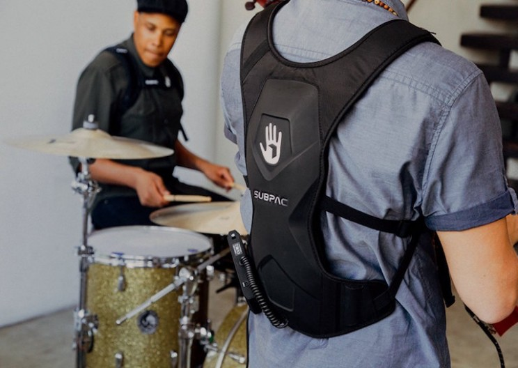 Body Armor Backpack Allows you to Feel the Bass in Your Music