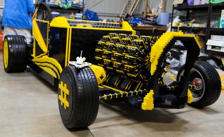 First Full-sized LEGO Car in the World