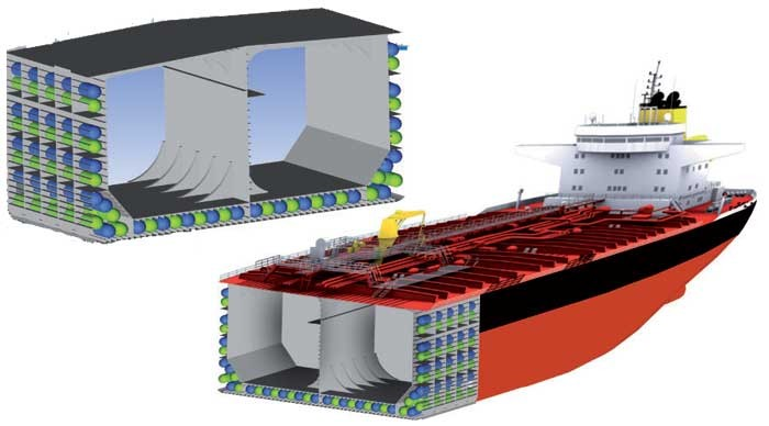 EU project develops air bag ship rescue system to prevent sinking