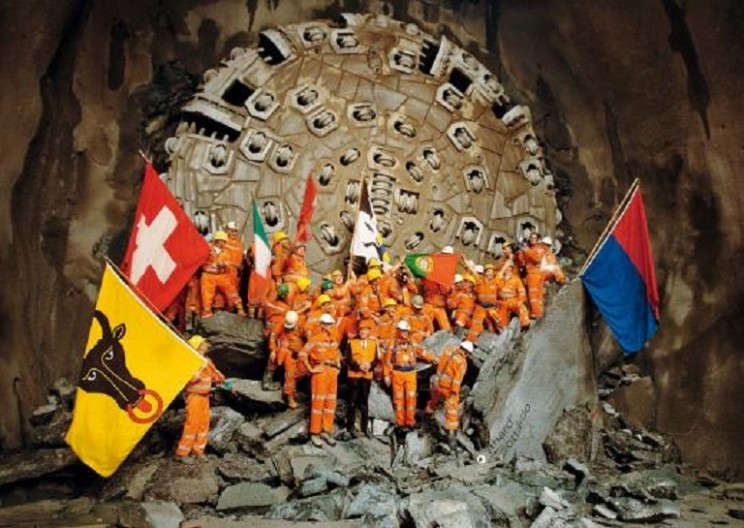 World's Longest Tunnel Set to Open this Summer in Switzerland