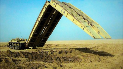 Army Tank Makes a Bridge in Under 2 Minutes