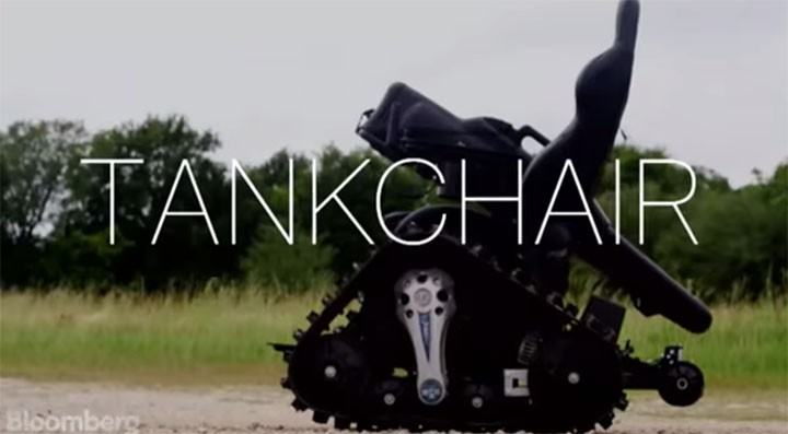 Army vet creates Tankchair, a badass wheelchair for the disabled