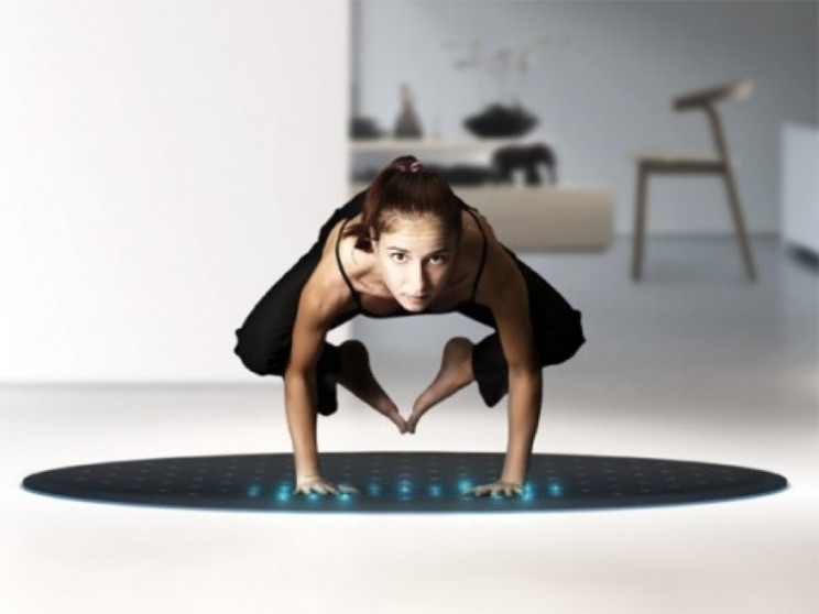 The Tera Rug brings interactive exercise training into the home