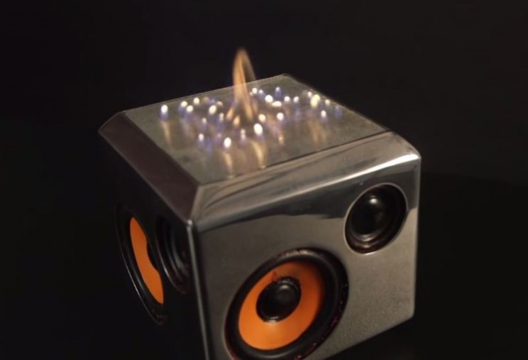 Sound Torch sets your music on fire