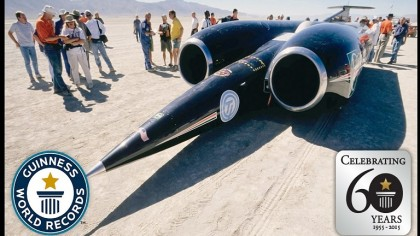 The Fastest Car in the World: The Thrust SSC