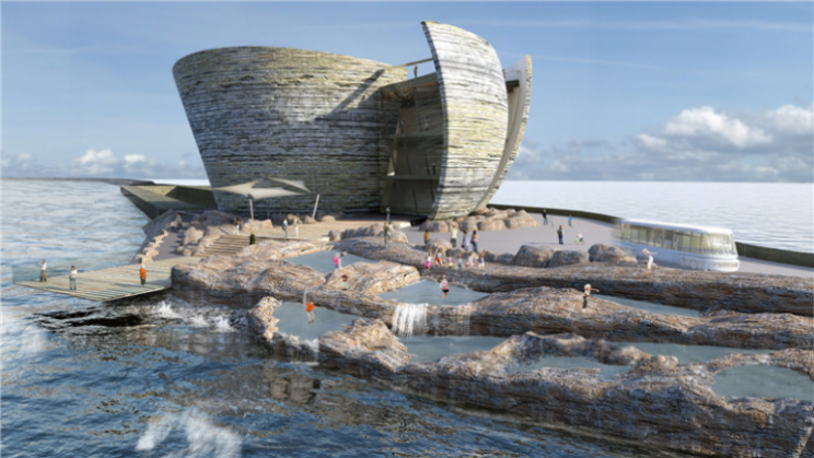 The first man made tidal lagoon could provide power for 155,000 homes