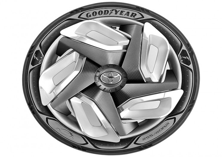 Goodyear's a new tire design can charge your car as you drive