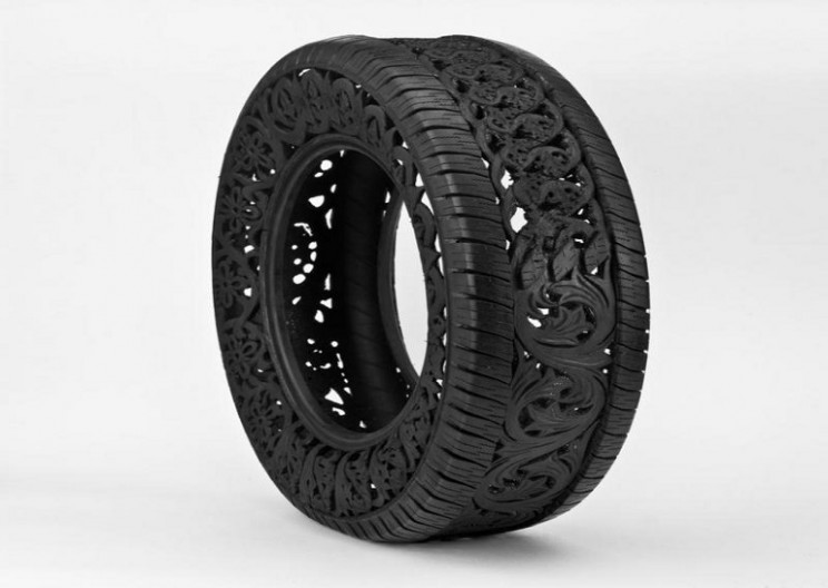 Repurposing Tires with Technology
