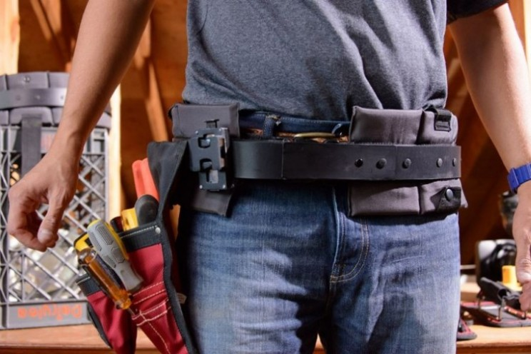 TrakBelt360 is the tool belt for the 21st century