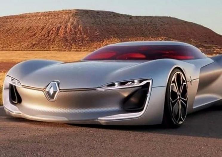 Renault Shocks Paris with Electric Trezor
