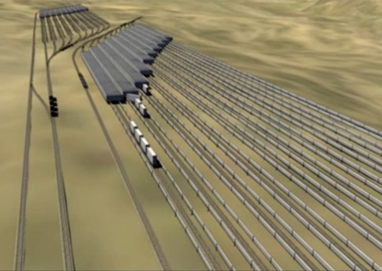 These Cool Energy Storage Trains Simply Work With the Power of Gravity
