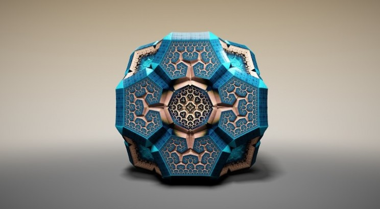 Stunning Rendered Faberge Fractals are awesome