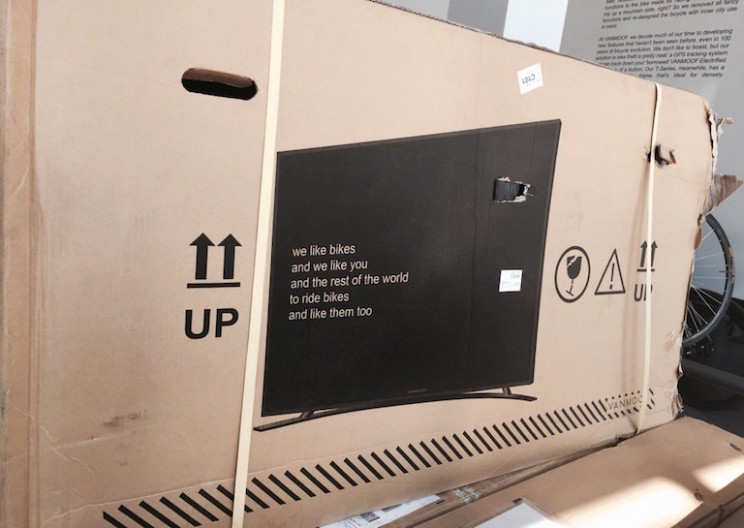 Bike Company Eliminates Shipping Damage by Printing TV on Box