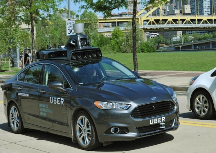 Uber Demonstrates Their First Autonomous Car