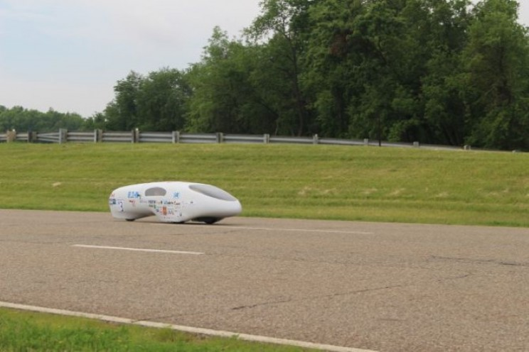 Students achieve 2,098mpg in the Supermileage competition