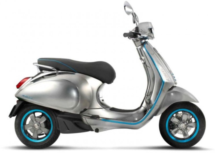 Vespa Revealed its Stunning, First Electric Scooter