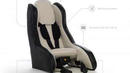 Inflatable car seat from Volvo could be child safety for 21st century