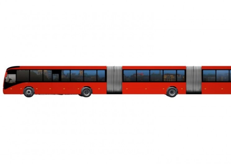 Volvo Introduces Very, Very, Very Lengthy Bus